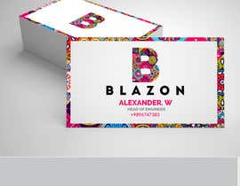 """#2241 for LOGO For """"BLAZON"""" by Nomankhanz"""