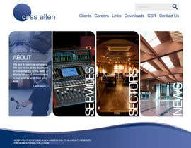 #33 untuk Wordpress Theme Design for Cass Allen Associates Ltd oleh Cornerstone505
