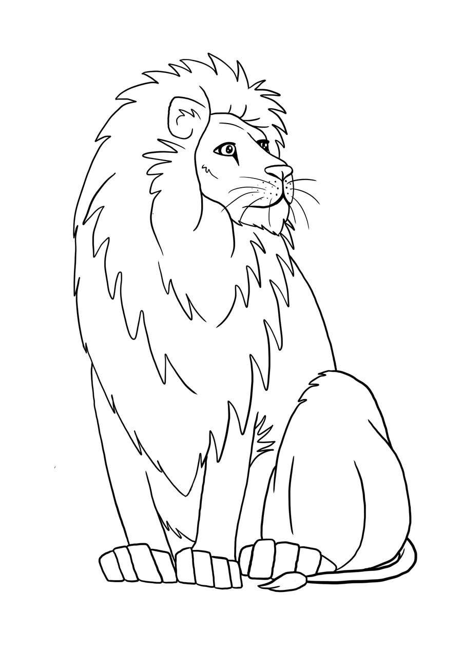 Entry 70 By Rockinrobyn91 For Lion Drawing Outline Freelancer Choose from hundreds of free lion pictures. lion drawing outline freelancer