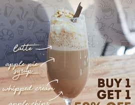 Nro 10 kilpailuun Design me a poster representing coffee of the month at size of A/1 käyttäjältä mokoon