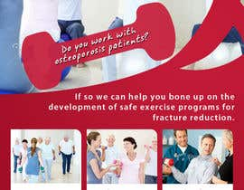 #13 pentru Poster Design for Osteoporosis Canada- Bone Fit Program de către mfbdeip