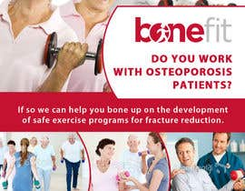 mfbdeip tarafından Poster Design for Osteoporosis Canada- Bone Fit Program için no 35