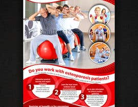 ezesol tarafından Poster Design for Osteoporosis Canada- Bone Fit Program için no 48