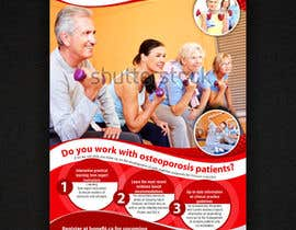 nº 49 pour Poster Design for Osteoporosis Canada- Bone Fit Program par ezesol
