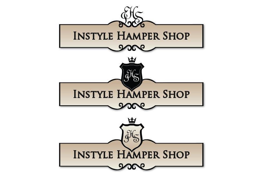 Proposition n°                                        92                                      du concours                                         Logo Design for Instyle Hamper Shop