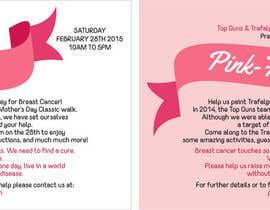 #17 untuk Design a Flyer for Pink-Falgar oleh grafiktopia