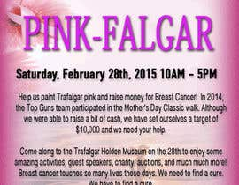 #14 untuk Design a Flyer for Pink-Falgar oleh jennagupta
