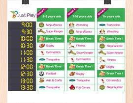 #10 , Designed Graphic Schedule 来自 SpartakMaximus