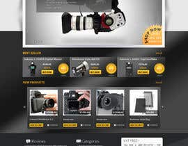 nº 3 pour New Graphic Design for photo equipment web shop  www.thebouncingbox.com par datagrabbers