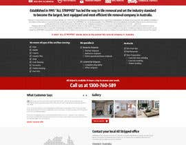 #49 untuk Design a Website Mockup for Tile Removal Company oleh nikil02an