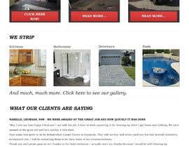 #24 untuk Design a Website Mockup for Tile Removal Company oleh chillipatchweb
