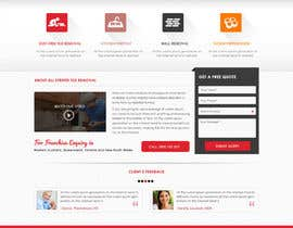 Design a website mockup for tile removal company freelancer featured contest tyukafo