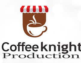 #50 for Design a Logo for Coffee Knight Productions by muslimb