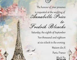 #156 para Design a wedding invitation de pjigara