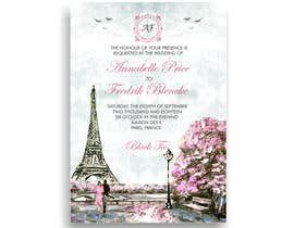#166 para Design a wedding invitation de Tariq101