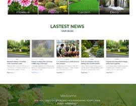 nº 17 pour Design homepage for website garden center par Rajdeep97800