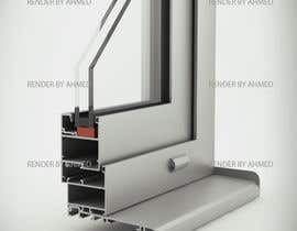 #1 for Rendering of Aluminium Window Corner Section by romanvis