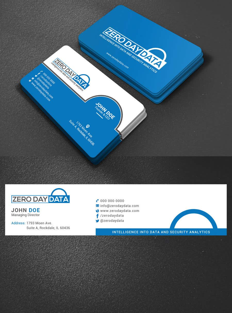 Entry #98 by tamamallick for Design some Business Cards + email ...