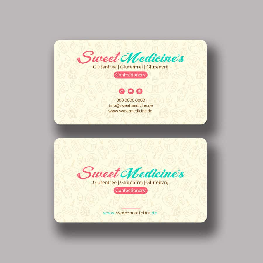 Entry 30 by mahmudkhan44 for design some business cards bakery contest entry 30 for design some business cards bakery reheart Choice Image