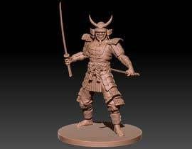 #11 untuk 3D Model - Samurai Character  - 3D Printing oleh constantino1983