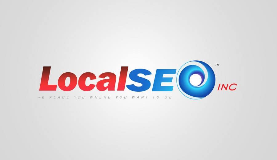 Kilpailutyö #311 kilpailussa Logo Design for Local SEO Inc