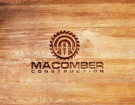 #88 untuk Locally Owned Construction Company - Logo with  Saw Blade with Screw in it oleh mituakter1585
