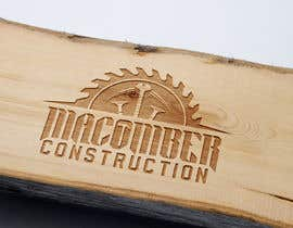 #98 untuk Locally Owned Construction Company - Logo with  Saw Blade with Screw in it oleh djmaric