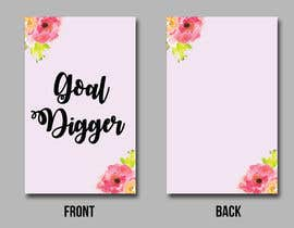 #6 for Goal Digger Book Cover af tatyana08