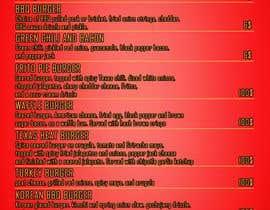 #5 for I need a menu design concept af dhruvparmar14