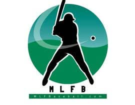 #184 para Logo Design for MLFBaseball.com por mesdourmohamed