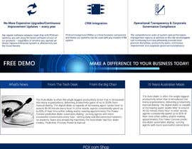 Nro 31 kilpailuun Design a Website Mockup for Software Company käyttäjältä bdosource