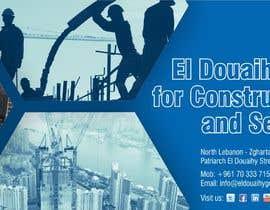 Nro 50 kilpailuun Design a construction company logo. käyttäjältä manishyam
