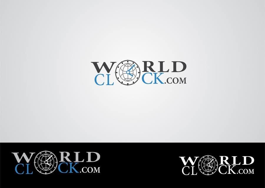 Penyertaan Peraduan #                                        121                                      untuk                                         Logo Design for WorldClock.com