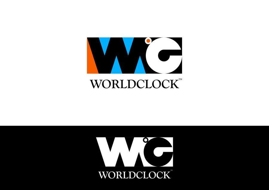 Penyertaan Peraduan #                                        182                                      untuk                                         Logo Design for WorldClock.com
