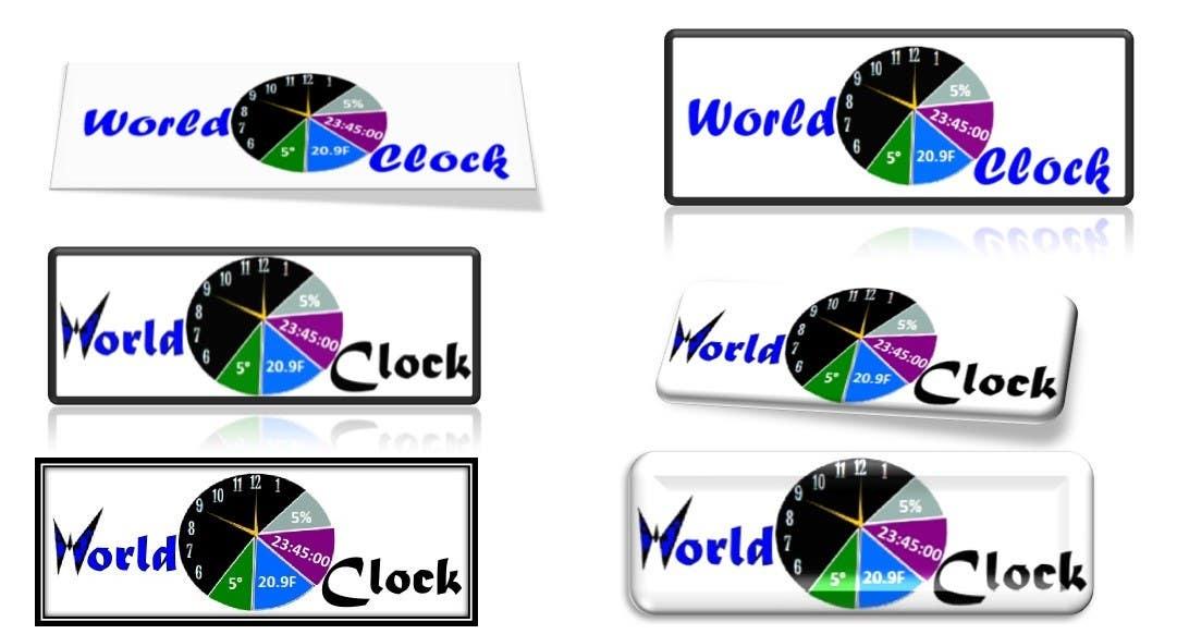 Penyertaan Peraduan #                                        211                                      untuk                                         Logo Design for WorldClock.com