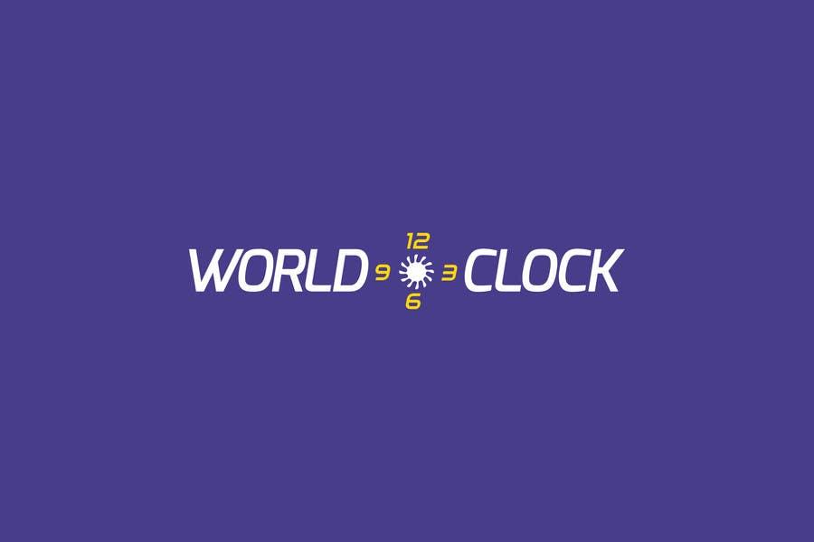 Penyertaan Peraduan #                                        312                                      untuk                                         Logo Design for WorldClock.com