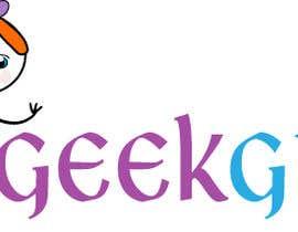 Nro 18 kilpailuun Geek girl logo käyttäjältä darkavdark