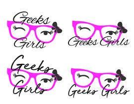 Nro 17 kilpailuun Geek girl logo käyttäjältä mohamedchaieb