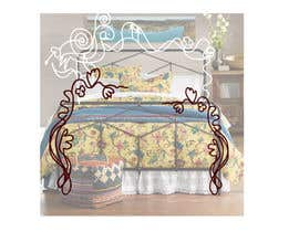 #2 for Custom Wrought Iron Bed frame design by Sultana76