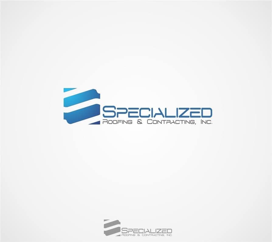 Kilpailutyö #35 kilpailussa Logo Design for Specialized Roofing & Contracting, Inc.