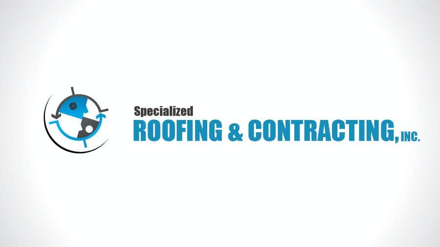 Kilpailutyö #63 kilpailussa Logo Design for Specialized Roofing & Contracting, Inc.