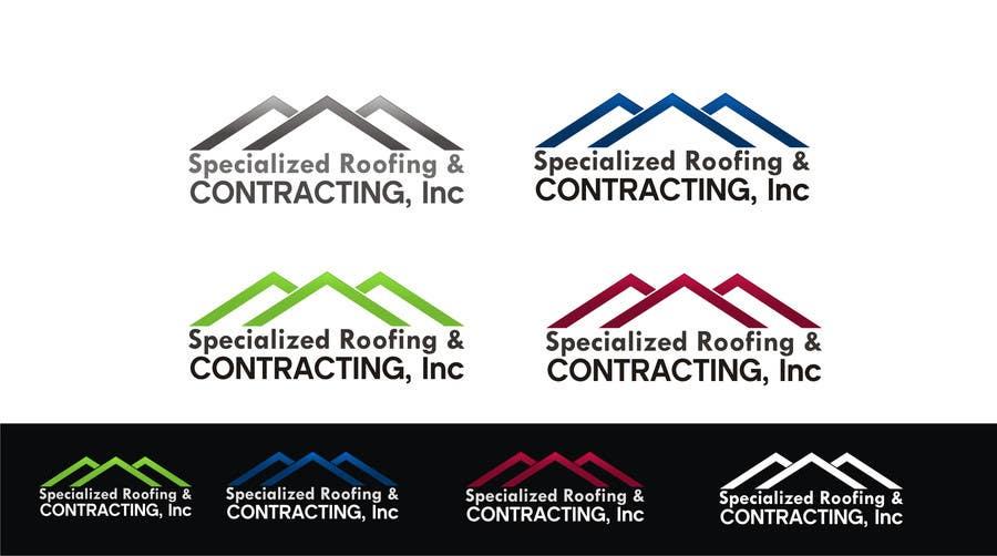 Kilpailutyö #69 kilpailussa Logo Design for Specialized Roofing & Contracting, Inc.