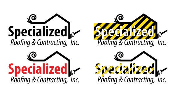 Penyertaan Peraduan #                                        50                                      untuk                                         Logo Design for Specialized Roofing & Contracting, Inc.