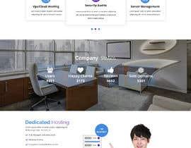 Nro 4 kilpailuun Design a Website Mockup for a Web Hosting Company käyttäjältä yasirmehmood490