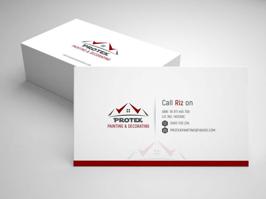 Entry 115 by wefreebird for create business card using existing business card reheart Image collections
