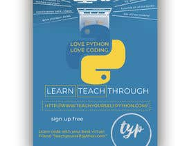#3 for Promotional Poster A5 for a website and coding servies by TH1511