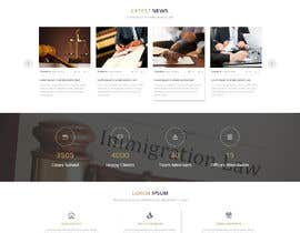 sudpixel tarafından Design a Website Mockup (PSD) for a startup legal business için no 28