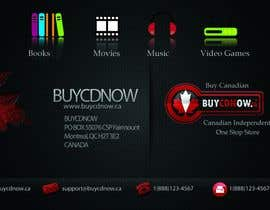 #67 untuk Business Card Design for BUYCDNOW.CA oleh flow1
