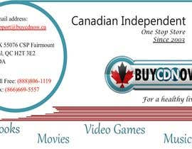 #74 para Business Card Design for BUYCDNOW.CA por Garimashah1