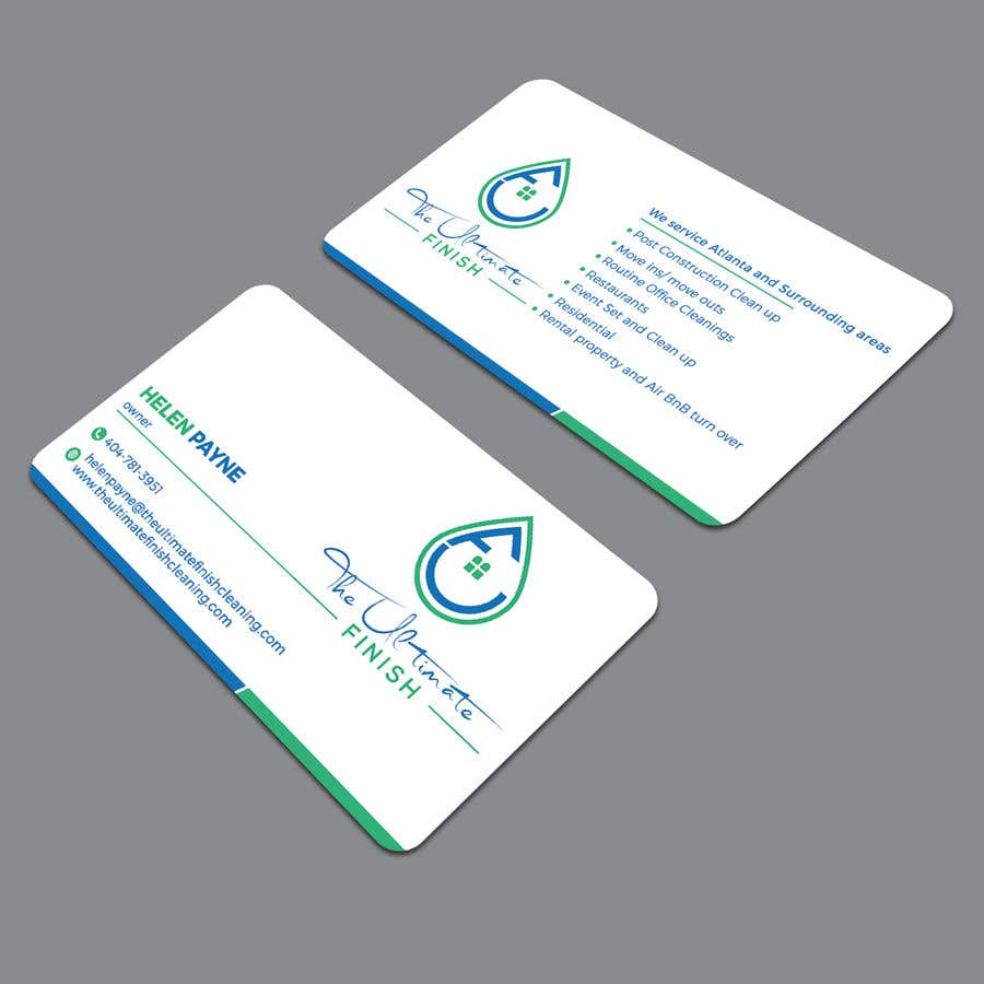 Entry 14 By Rockonmamun For Design Some Business Cards Cleaning